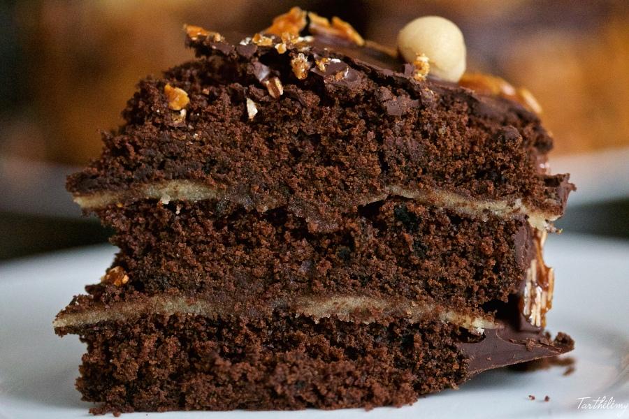 Tarta vegana de chocolate
