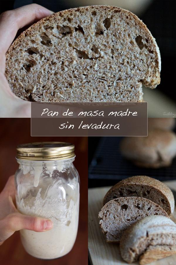 Pan de masa madre sin levadura (paso apaso)