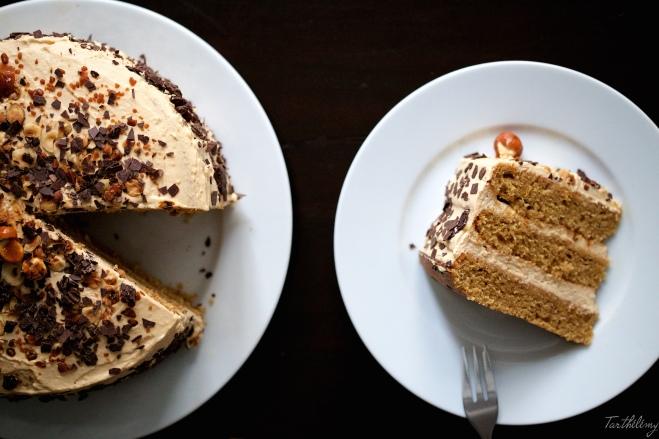 Tarta de Baileys y dulce de leche