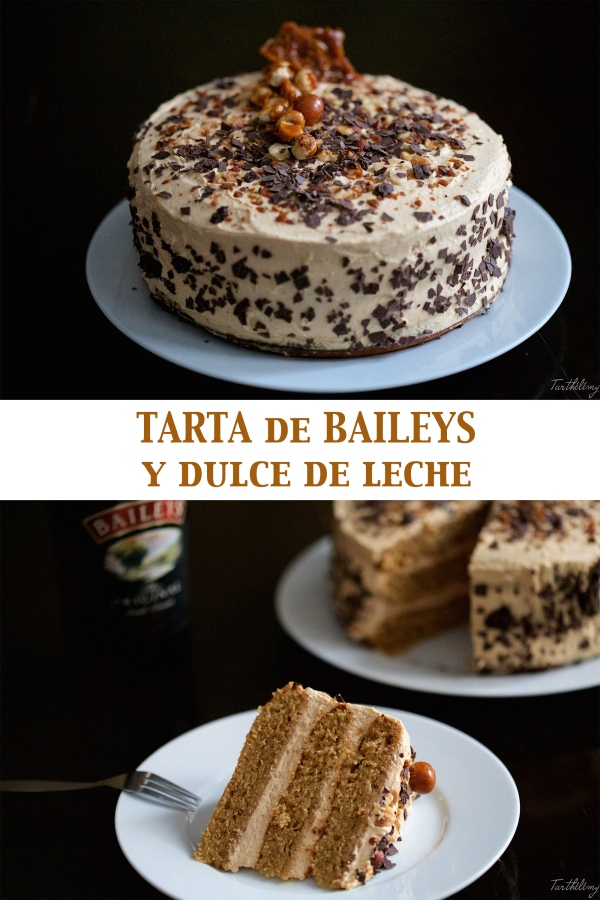 Tarta de Baileys y dulce deleche