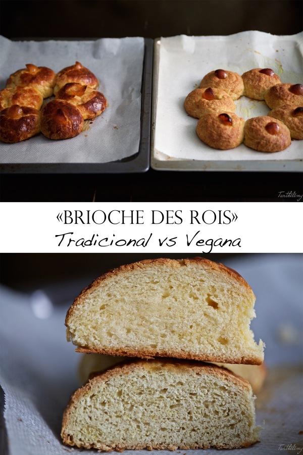 """Brioche des Rois"", tradicional vsvegana"