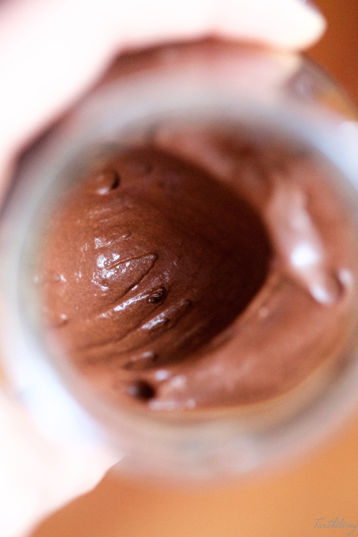 Mousse de chocolate vegana