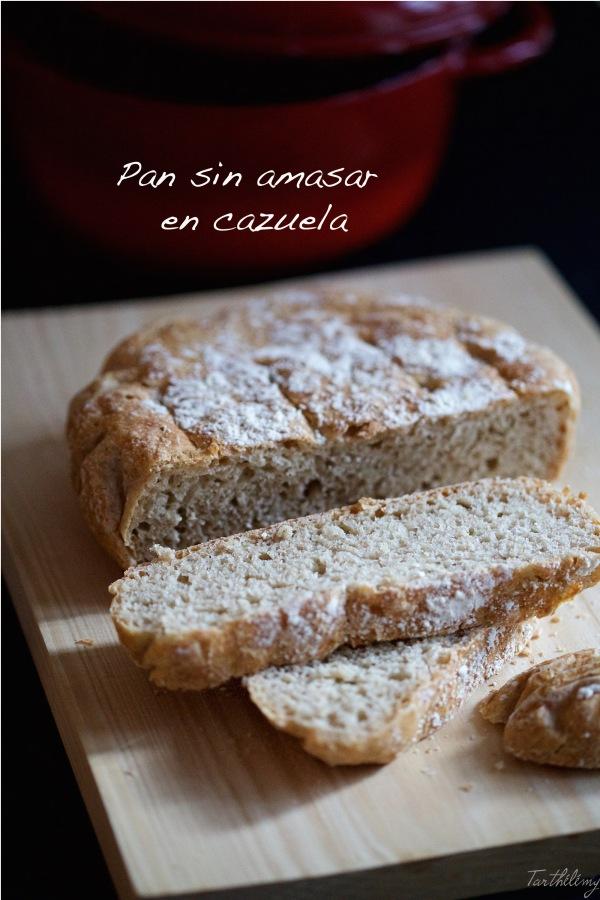 Pan sin amasar encazuela
