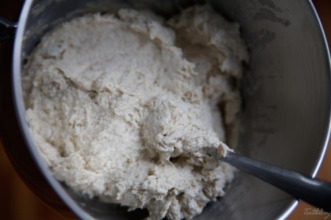 Pan de patata sin amasar