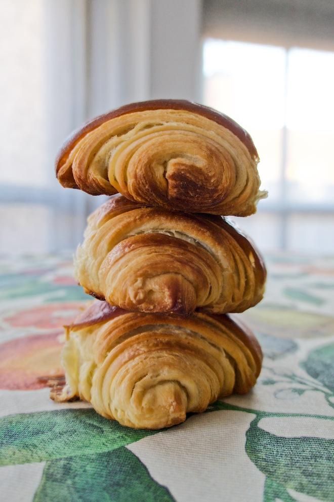 Torre de croissants