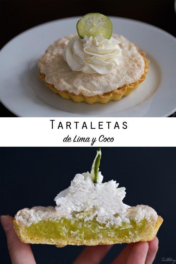 Tartaletas de lima y coco