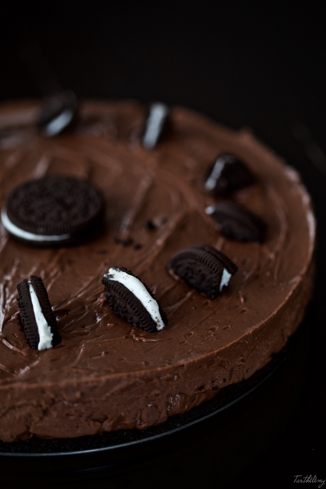 Cheesecake de nutella bio y oreos