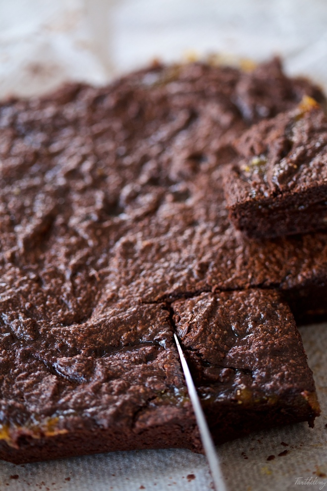 Brownies de tahini
