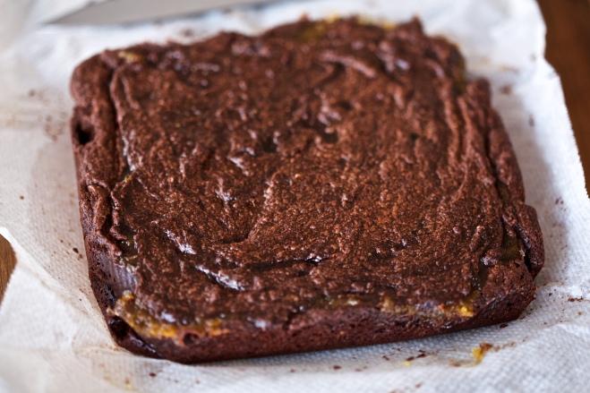 Brownies de tahini