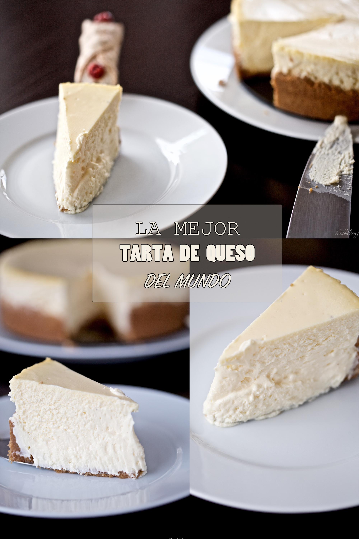 La mejor tarta de queso del mundo (paso a paso)