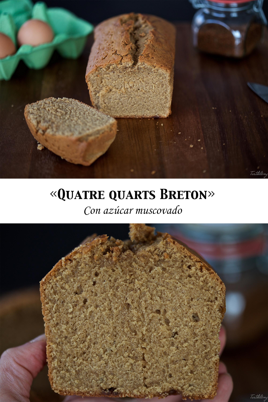 Quatre Quarts Breton con azúcar muscovado (paso a paso)