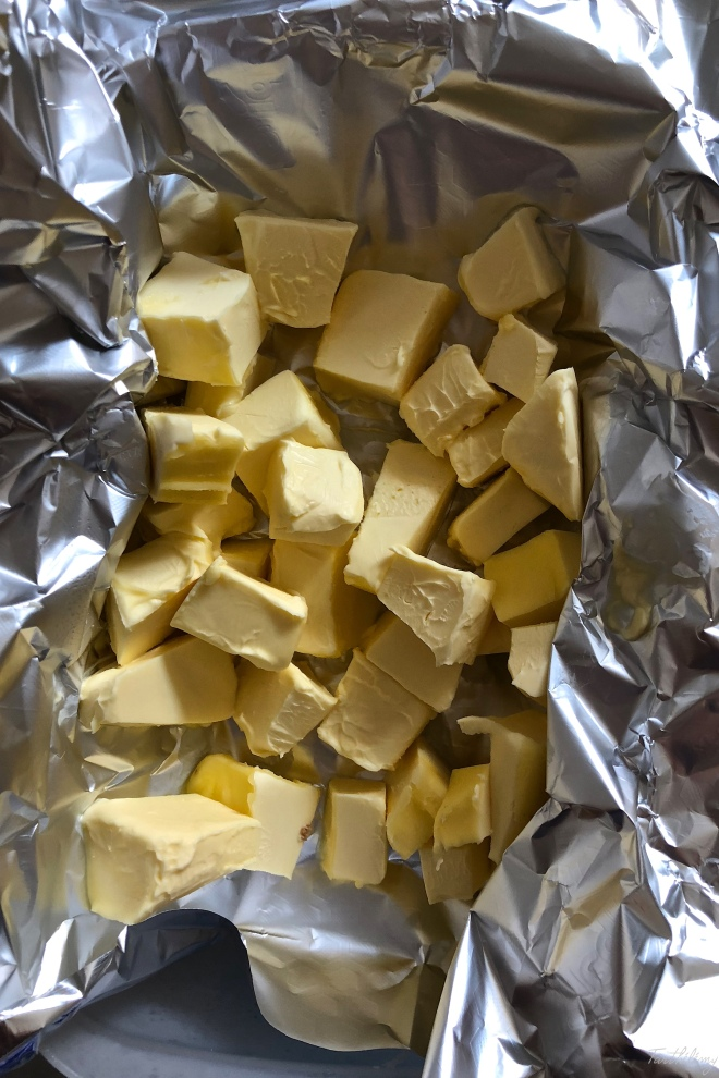 Mantequilla congelada