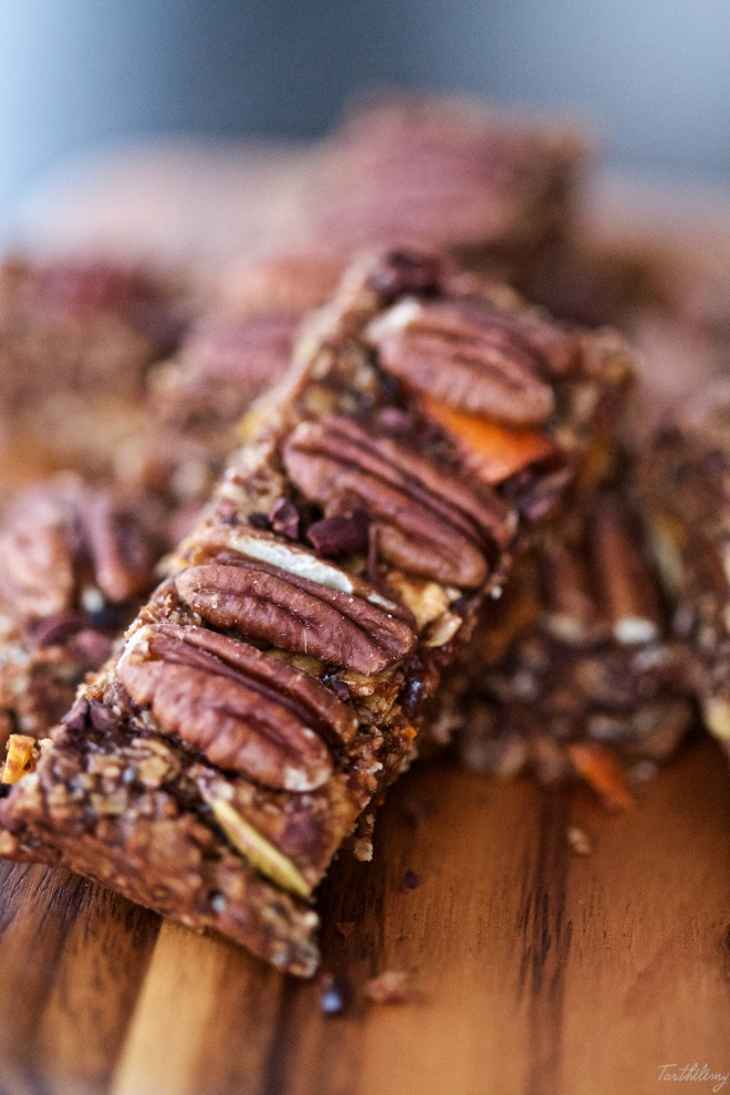 Barras de cereales saludables