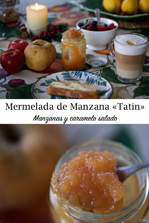 """Mermelada de manzana """"Tatin"""", {Manzanas y caramelo salado}, paso a paso"""