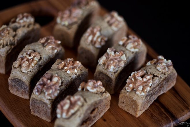 Financier de nueces y aceite de oliva