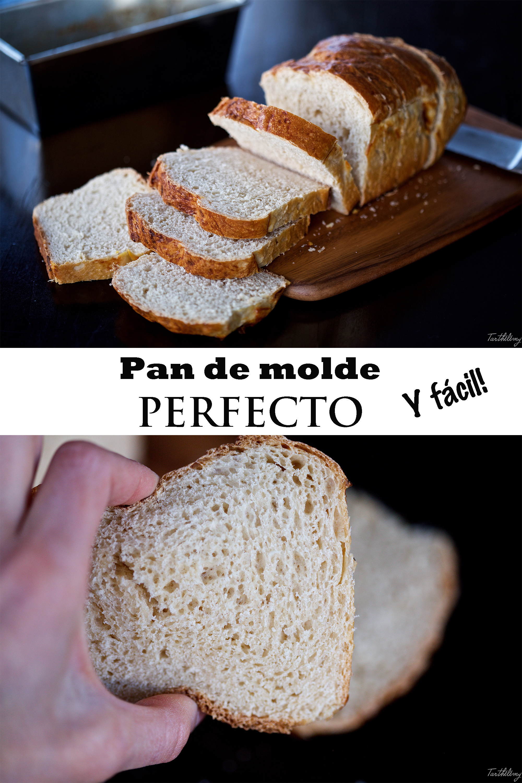 Pan de molde perfecto y fácil (paso a paso)