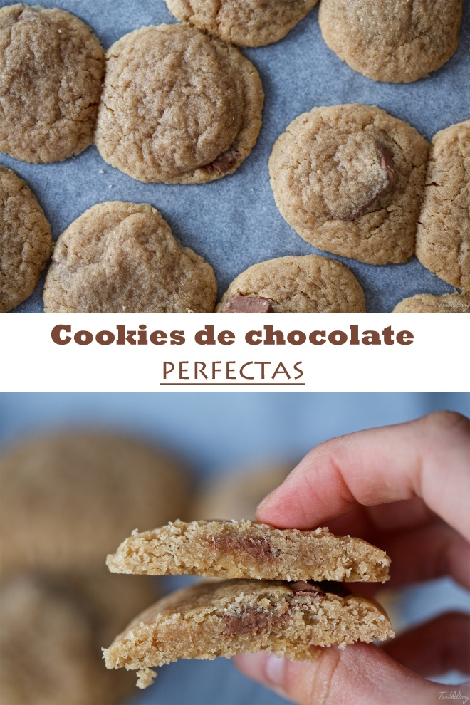 Cookies de chocolate perfectas
