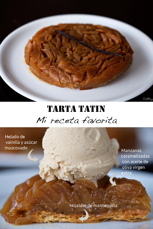 Tarta Tatin (con helado de vainilla), mi receta favorita (paso a paso)