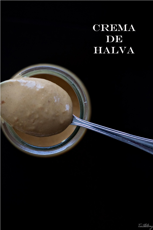 Crema de halva (sin gluten, sin huevo)