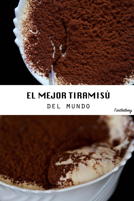 El mejor Tiramisù del mundo (paso a paso)