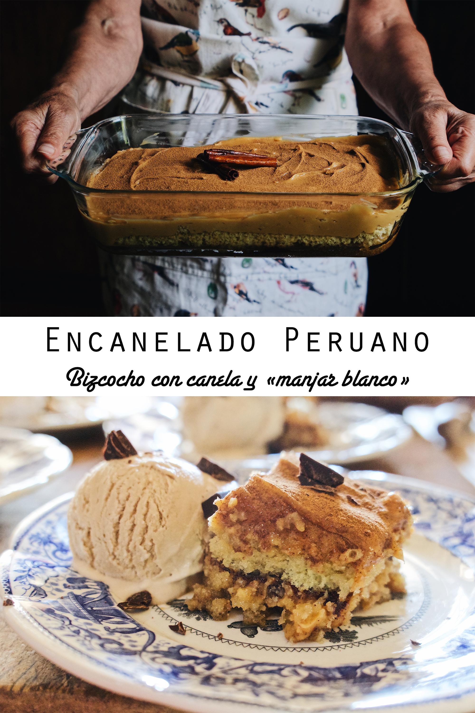 Encanelado peruano con helado de café (paso a paso)