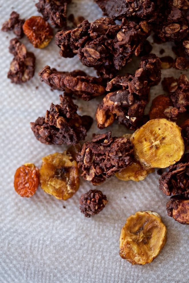 La mejor granola de chocolate