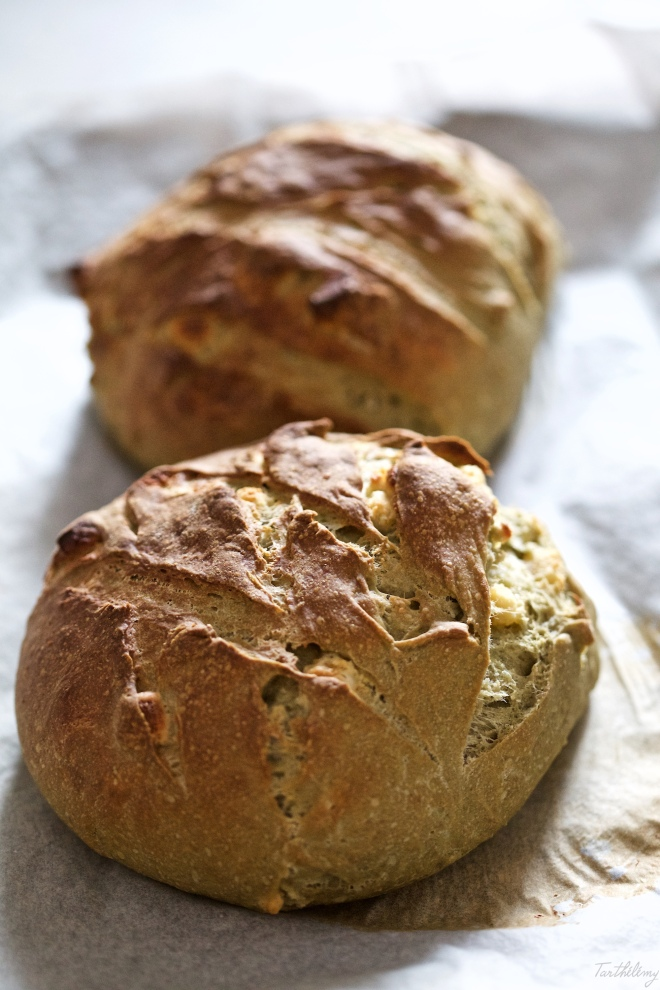 Pan de matcha y calissons