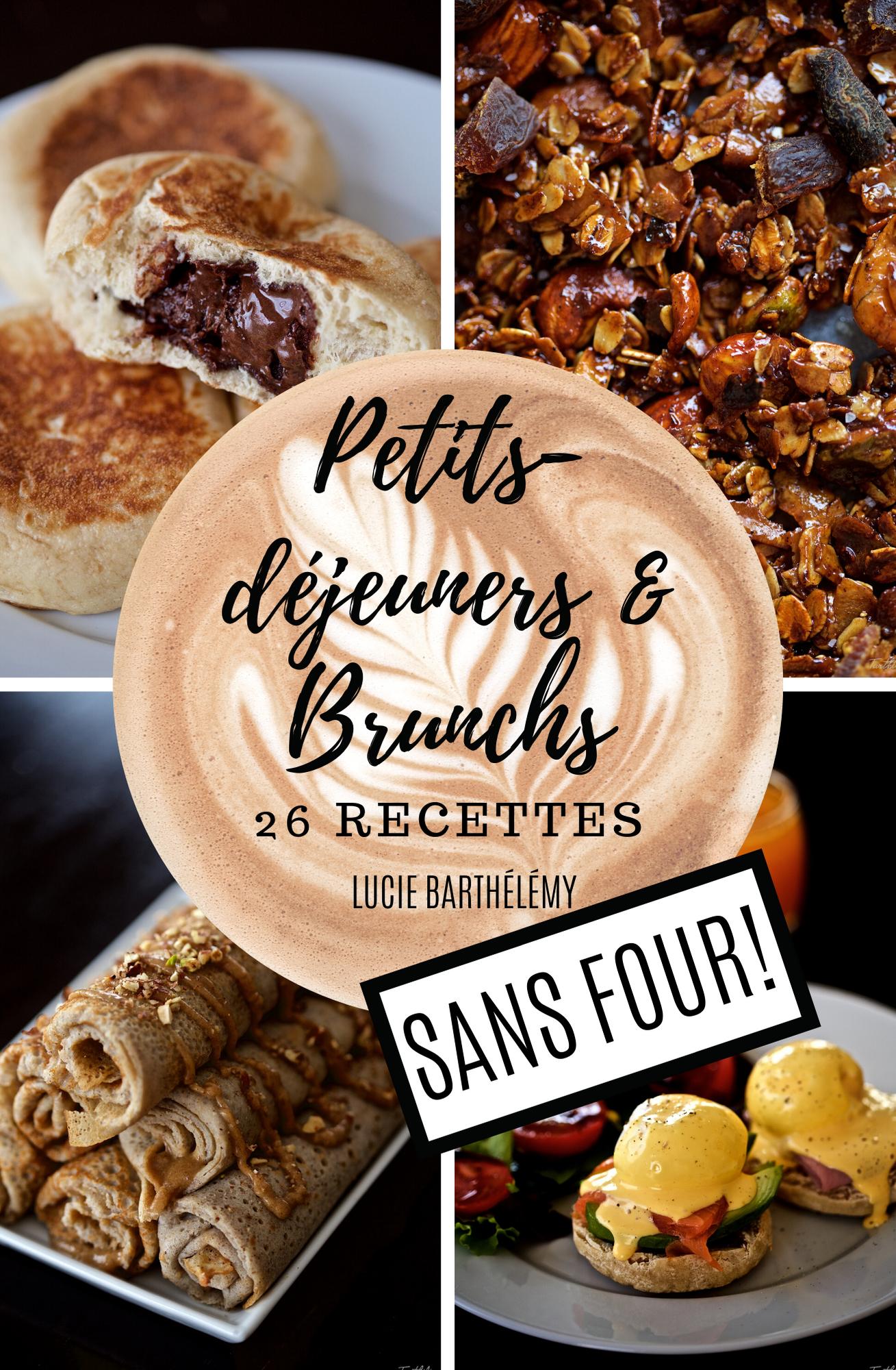 """Mi Ebook de recetas en francés """"Desayunos y Brunch sin horno!"""""""
